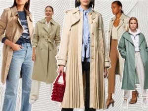 access fashion trench coat season