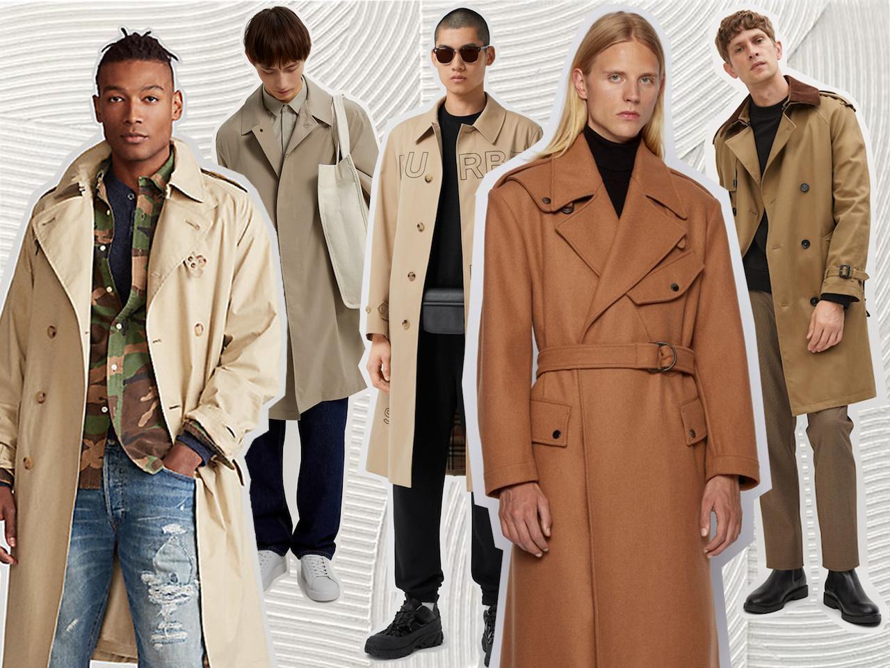 access fashion menswear trench coats